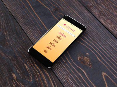 Feaster app design